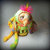 Куклы и игрушки ручной работы. Ярмарка Мастеров - ручная работа Купи себе слона;))). Handmade.