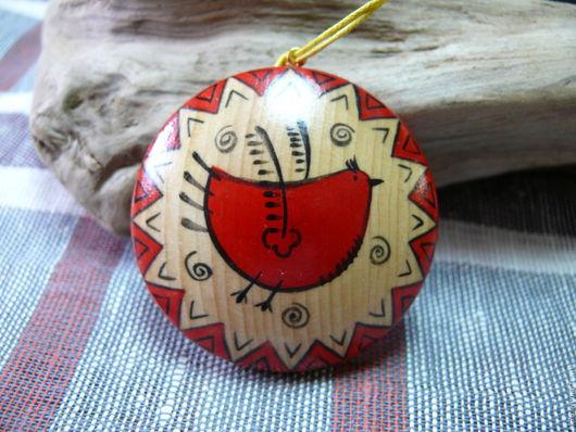 Кулоны, подвески ручной работы. Ярмарка Мастеров - ручная работа. Купить Кулоны из кедра расписные. Handmade. Комбинированный, кедр