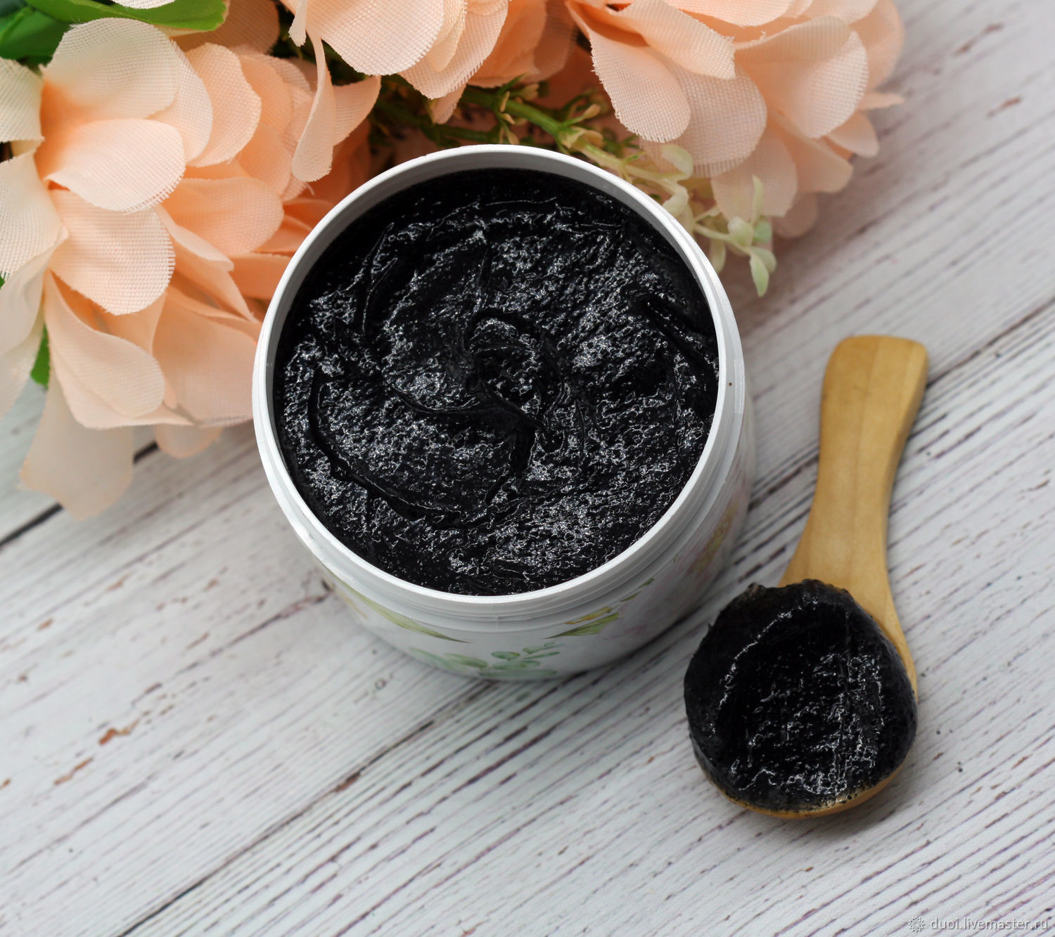 Face mask alginate gel Coconut charcoal, Mask, Moscow,  Фото №1