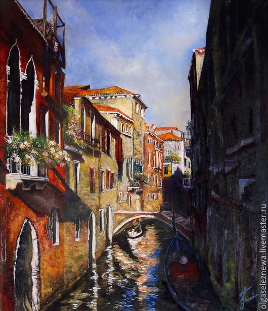 Картина. Венеция. Холст. Масло. Автор Ольга Селезнева.
