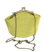 Сумки и аксессуары ручной работы. Ярмарка Мастеров - ручная работа сумочка бисерная Лайм. Handmade.