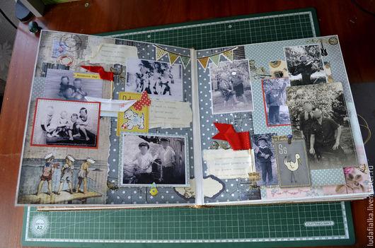 Фотоальбомы ручной работы. Ярмарка Мастеров - ручная работа. Купить Альбом с фотографиями. Handmade. Комбинированный, фотоальбом, фотоальбом в подарок