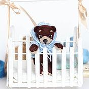 Куклы и игрушки ручной работы. Ярмарка Мастеров - ручная работа Топтыжка медвежонок валяная игрушка. Handmade.