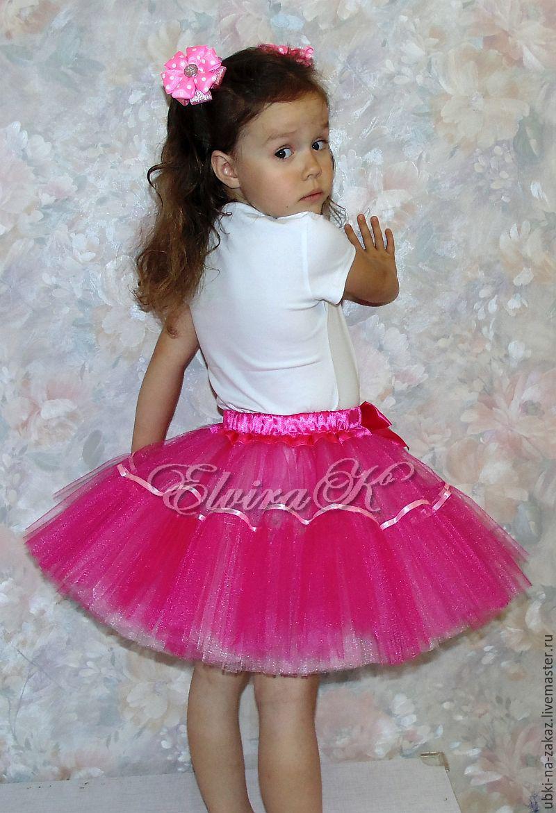 Пышные юбки для девочек из фатина фото