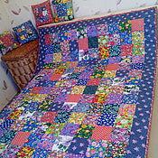 """Для дома и интерьера ручной работы. Ярмарка Мастеров - ручная работа """"Завалинка"""". Настоящее русское деревенское одеяло. Handmade."""
