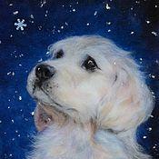 """Картины и панно ручной работы. Ярмарка Мастеров - ручная работа """"Снежинка"""". Handmade."""