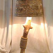 Для дома и интерьера ручной работы. Ярмарка Мастеров - ручная работа Золотая лампа. Handmade.