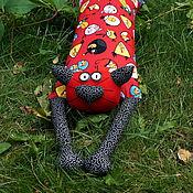 """Сувениры и подарки ручной работы. Ярмарка Мастеров - ручная работа Игрушка-подушка """"Радужный кот"""" Angry Birds (злые птички). Handmade."""