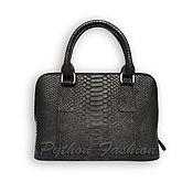 Сумки и аксессуары handmade. Livemaster - original item Copy of Python leather bag PRAD. Handmade.