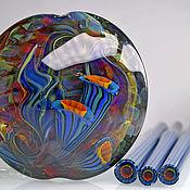 """Украшения ручной работы. Ярмарка Мастеров - ручная работа Кулон """"Морские цветы"""" 1. Лэмпворк. Handmade."""