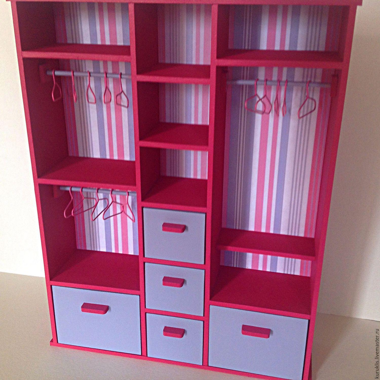 Как сделать шкаф для кукол. Мастер-класс Домовёнок-Арт