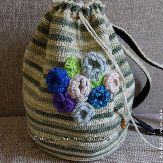 Рюкзаки ручной работы. Ярмарка Мастеров - ручная работа. Купить Рюкзак для городской модницы. Handmade. Разноцветный, рюкзак для девушки