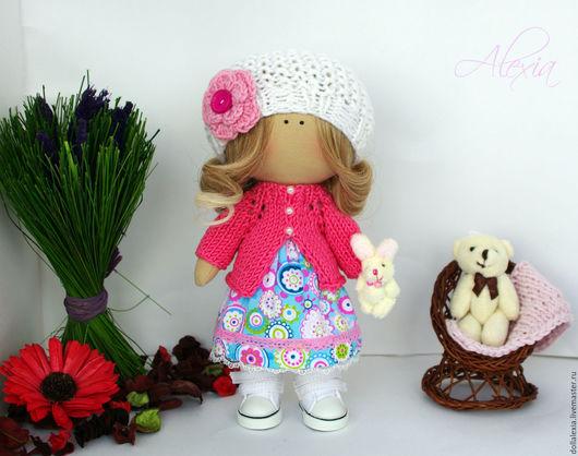 Коллекционные куклы ручной работы. Ярмарка Мастеров - ручная работа. Купить Лера Интерьерная игровая кукла тыквоголовка. Handmade. Кукла
