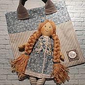 Куклы и игрушки handmade. Livemaster - original item Play doll with a handbag. Handmade.