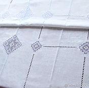 Для дома и интерьера handmade. Livemaster - original item The cloth 10 of the Kuban, embroidery, heirloom, white linen. Handmade.