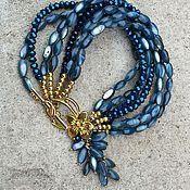 Украшения handmade. Livemaster - original item Multi-row bracelet mother of pearl. Handmade.