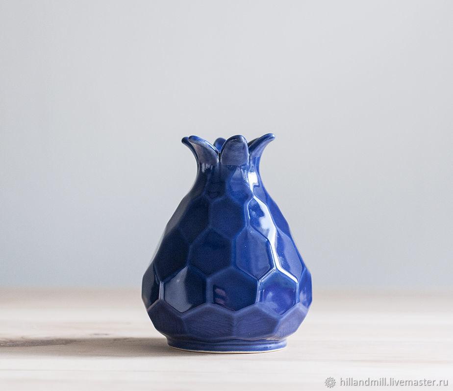 Vase 'Astra Purple M' 0.6 l, Vases, Vyazniki,  Фото №1