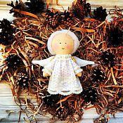 Подарки к праздникам ручной работы. Ярмарка Мастеров - ручная работа Ангелочки. Елочная игрушка. Handmade.