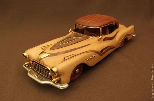 Персональные подарки ручной работы. Ярмарка Мастеров - ручная работа. Купить Подарочная модель автомобиля. Handmade. Хардтоп, дизельпанк авто