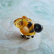 Материалы для творчества ручной работы. Ярмарка Мастеров - ручная работа Бусина для браслета Пчелка. Handmade.