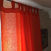 Для дома и интерьера handmade. Livemaster - original item Curtains of linen
