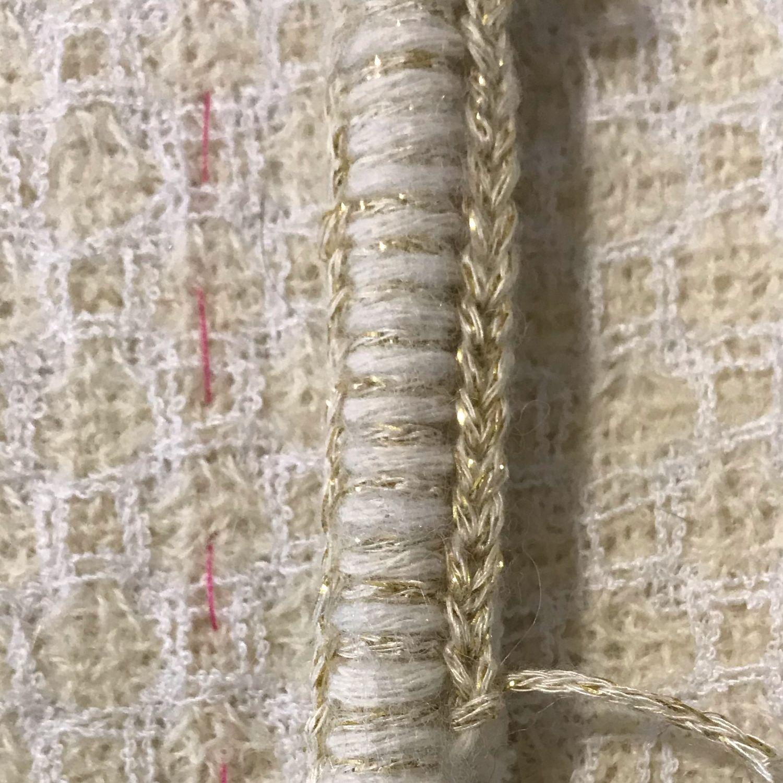 Декор ручного плетения, весь цикл, Отделка для шитья, Москва,  Фото №1