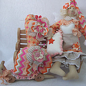 Куклы и игрушки ручной работы. Ярмарка Мастеров - ручная работа Спящий ангел Тильда. Handmade.