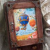 Для дома и интерьера handmade. Livemaster - original item The housekeeper with a door (closed )