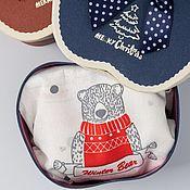 Одежда handmade. Livemaster - original item Briefs for men. Funny gift for NG. Intercollegiate. Handmade.