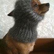 Для домашних животных, ручной работы. Ярмарка Мастеров - ручная работа Снуд из собачьего пуха для маленькой собачки. Handmade.