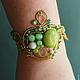 Bracelet Apple Secret Garden, Bead bracelet, St. Petersburg,  Фото №1