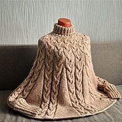 """Одежда ручной работы. Ярмарка Мастеров - ручная работа Пончо""""Парижанка"""". Handmade."""