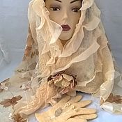 """Свадебный салон ручной работы. Ярмарка Мастеров - ручная работа Комплект """"Ваниль"""". Handmade."""
