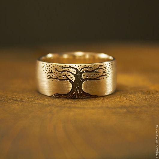 Кольца ручной работы. Ярмарка Мастеров - ручная работа. Купить Кольцо с Деревом. Handmade. Кольцо с деревом, украшения из серебра