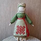 """Фен-шуй и эзотерика ручной работы. Ярмарка Мастеров - ручная работа Кукла-оберег  """"Одолень трава"""". Handmade."""