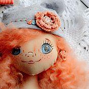 Куклы и игрушки ручной работы. Ярмарка Мастеров - ручная работа Текстильная куколка Рыжик. Handmade.