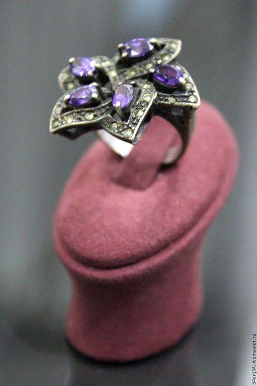 """Кольца ручной работы. Ярмарка Мастеров - ручная работа. Купить Кольцо """" Волшебница """". Handmade. Фиолетовый, уникальный подарок"""