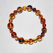Украшения handmade. Livemaster - original item Natural amber. Bracelet