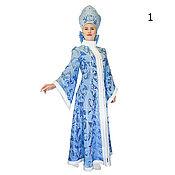 Одежда handmade. Livemaster - original item Costume  Snow Maiden for women. Handmade.