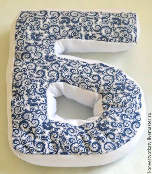 Развивающие игрушки ручной работы. Ярмарка Мастеров - ручная работа. Купить Буквы -подушки. Handmade. Буква имени, буква из ткани