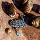 Кулоны, подвески ручной работы. Ярмарка Мастеров - ручная работа. Купить Подвеска из серебра на шею «Рыболов 2». Handmade. Серебряный