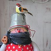 Подарки к праздникам ручной работы. Ярмарка Мастеров - ручная работа Снеговички- лучший новогодний подарок. Тильда снеговик.. Handmade.