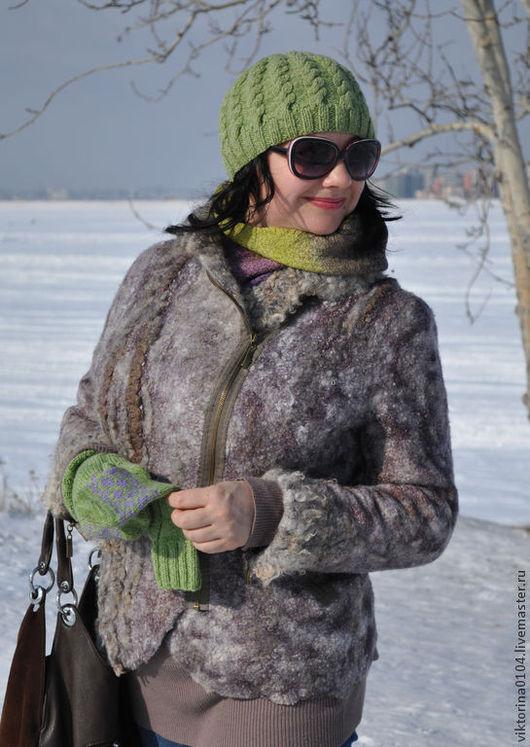 """Верхняя одежда ручной работы. Ярмарка Мастеров - ручная работа. Купить Куртка """"...обуздать темперамент"""". Handmade. Разноцветный, флис"""