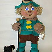 Куклы и игрушки ручной работы. Ярмарка Мастеров - ручная работа Страшила Текстильная игрушка. Handmade.