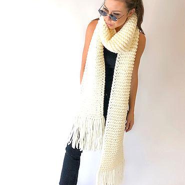 Accessories handmade. Livemaster - original item Scarf knitted. Handmade.