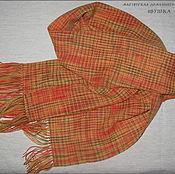 """Аксессуары ручной работы. Ярмарка Мастеров - ручная работа Шерстяной шарф """"Рыжее настроение"""". Handmade."""