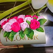 Косметика ручной работы handmade. Livemaster - original item Gorgeous roses of soap. Handmade.