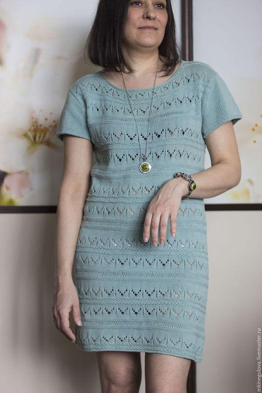 """Платья ручной работы. Ярмарка Мастеров - ручная работа. Купить Платье """"Заколдованный лес"""". Handmade. Мятный, красивое платье"""