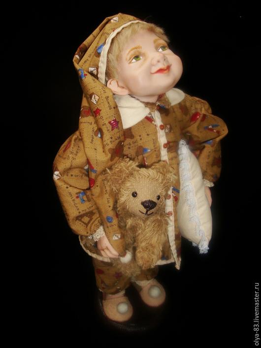 """Коллекционные куклы ручной работы. Ярмарка Мастеров - ручная работа. Купить Фарфоровая кукла. """"Добрых сновидений"""". Handmade. Фарфоровая кукла"""