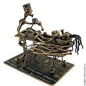 Сувениры и подарки handmade. Livemaster - original item Urologist. Handmade.